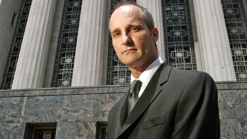 Charles Lynch, shown at the federal courthouse in L.A. in 2008, operated a medical marijuana dispensary in Morro Bay and was convicted that year of violating federal drug laws.