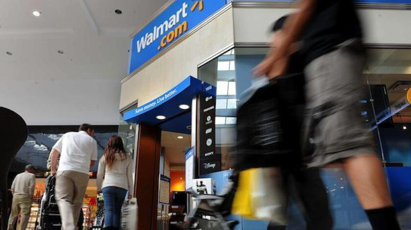 Wal-Mart's earnings fell below Wall Street's expectations in the third quarter.