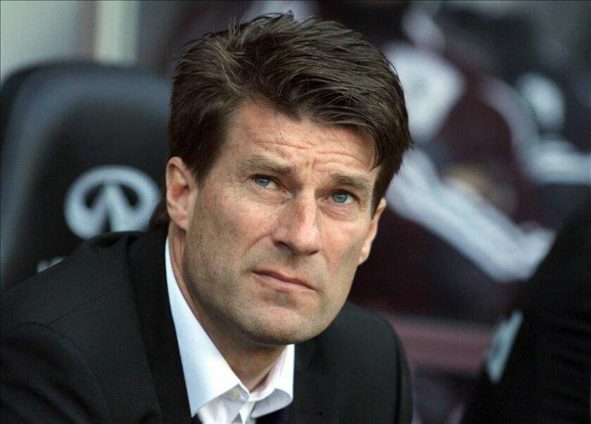 El danés Michael Laudrup, entrenador del club galés de la Premier Swansea City. EFE/Archivo