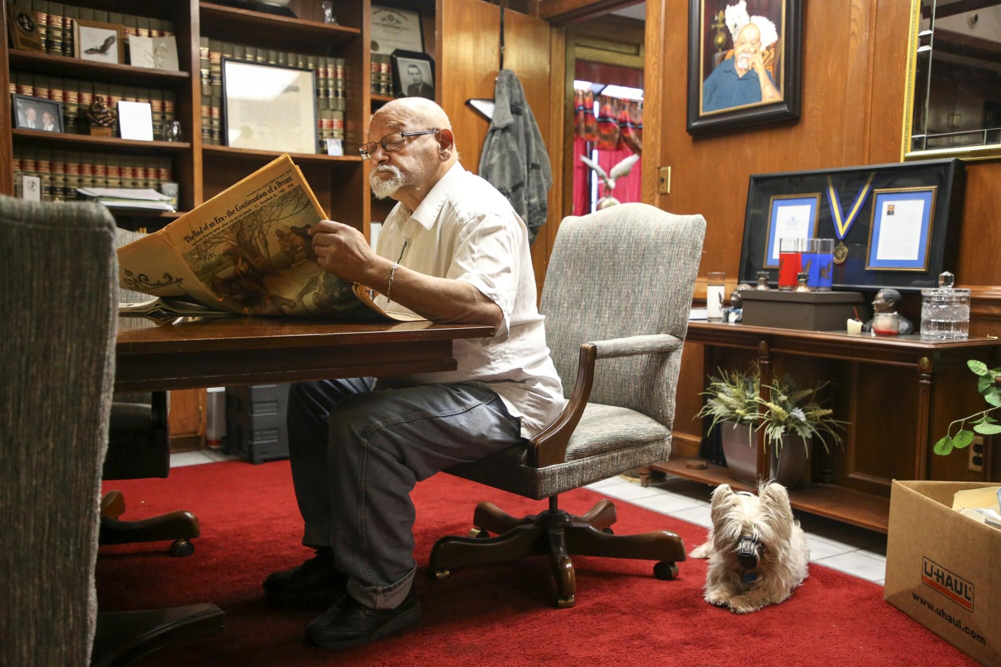 Oklahoma Eagle Publisher Jim Goodwin