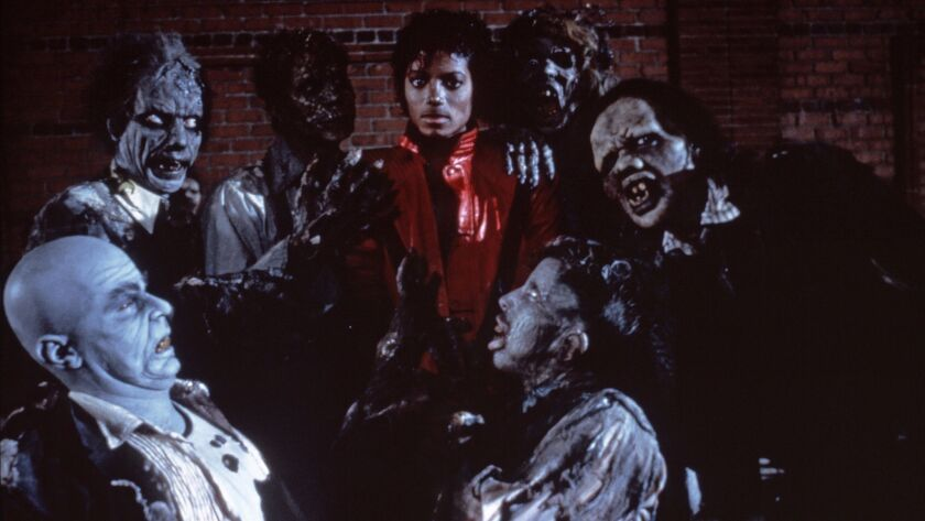 The annual Thriller Flash Mob celebrates the King of Pop's famous music video/short film from 1983.