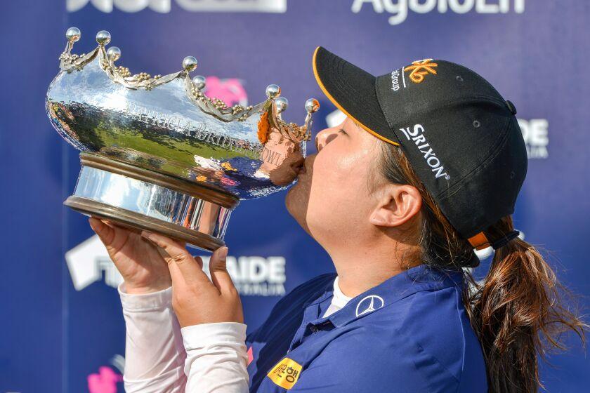 Inbee Park wins Australian Open, ending 2-year title drought