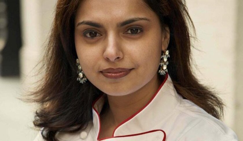 """""""Chopped"""" judge and Food Network star Maneet Chauhan heads to Grant Grill."""