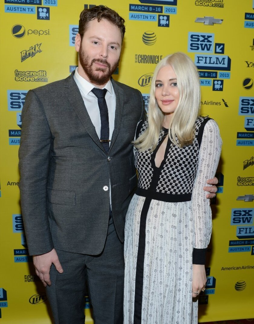 Napster co-founder Sean Parker with his then-fiancee, now his wife, Alexandra Lenas at SXSW in 2013. He has joined other entrepreneurs in launching the Economic Innovation Group.