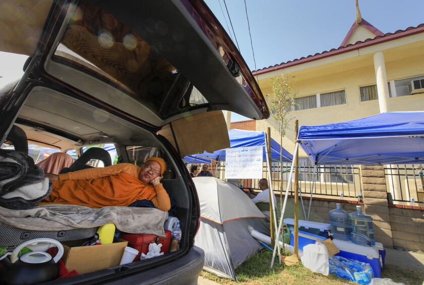 Monk living in car after eviction from Khemara Buddhikarama temple in Long Beach