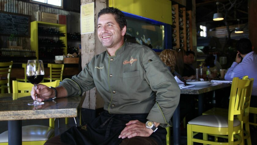 """We have a unique opportunity to create a cuisine for Baja California,"" said owner Miguel Angel Guerrero, inside his newest restaurant, El Taller, which specializes in Baja Med cuisine. His is one a number of new restaurants that have opened in Tijuana in recent months, a hopeful sign of recovery f"