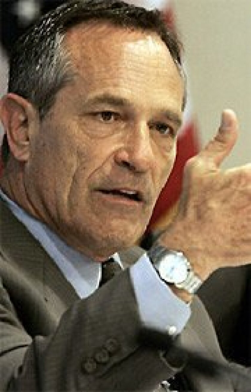 Alan Bersin served as  San Diego schools  chief from 1998 to  2005. (AP file)