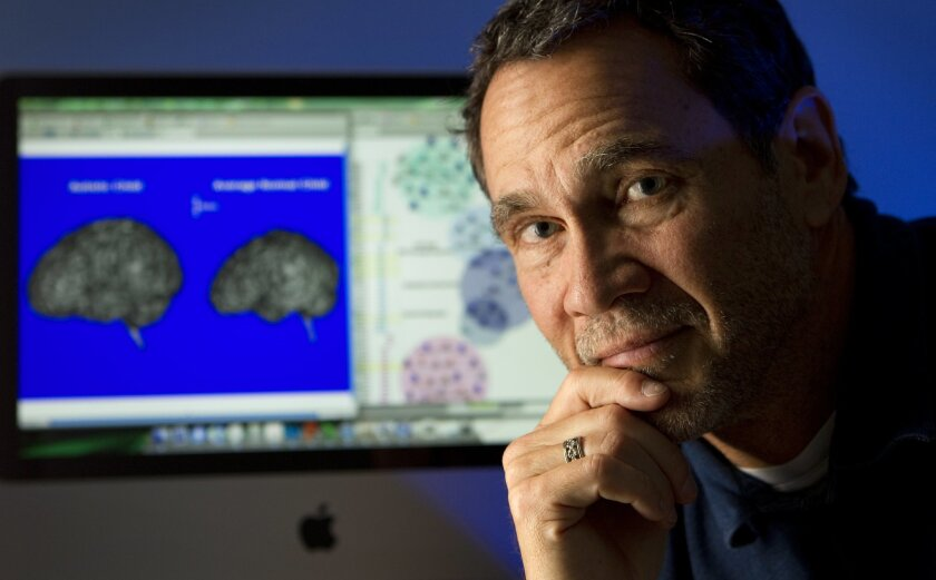 Neuroscientist Eric Courchesne, director of the Autism Center of Excellence at UC San Diego, says he and collaborators have found the genetic cause of one of the major symptoms of autism. HOWARD LIPIN • U-T