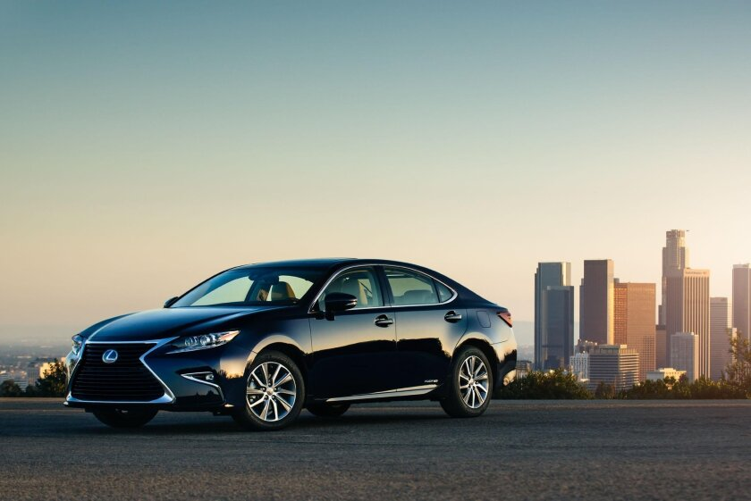 ES 300 Hybrid pricing starts at about $42,000.