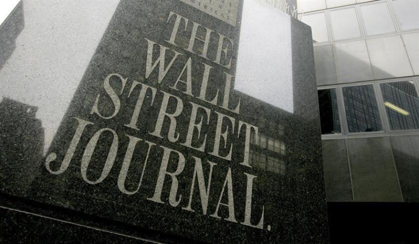 """Vista de la fachada de las oficinas de """"The Wall Street Journal"""" en Nueva York (EEUU). EFE/Archivo"""