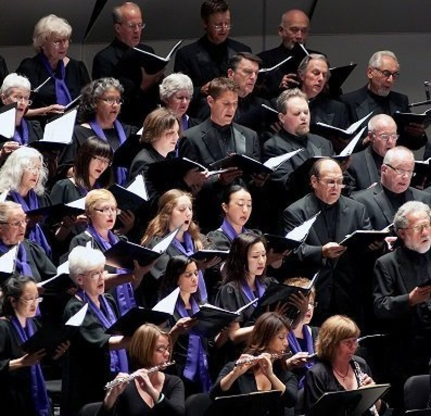La Jolla Symphony Chorus Courtesy photo