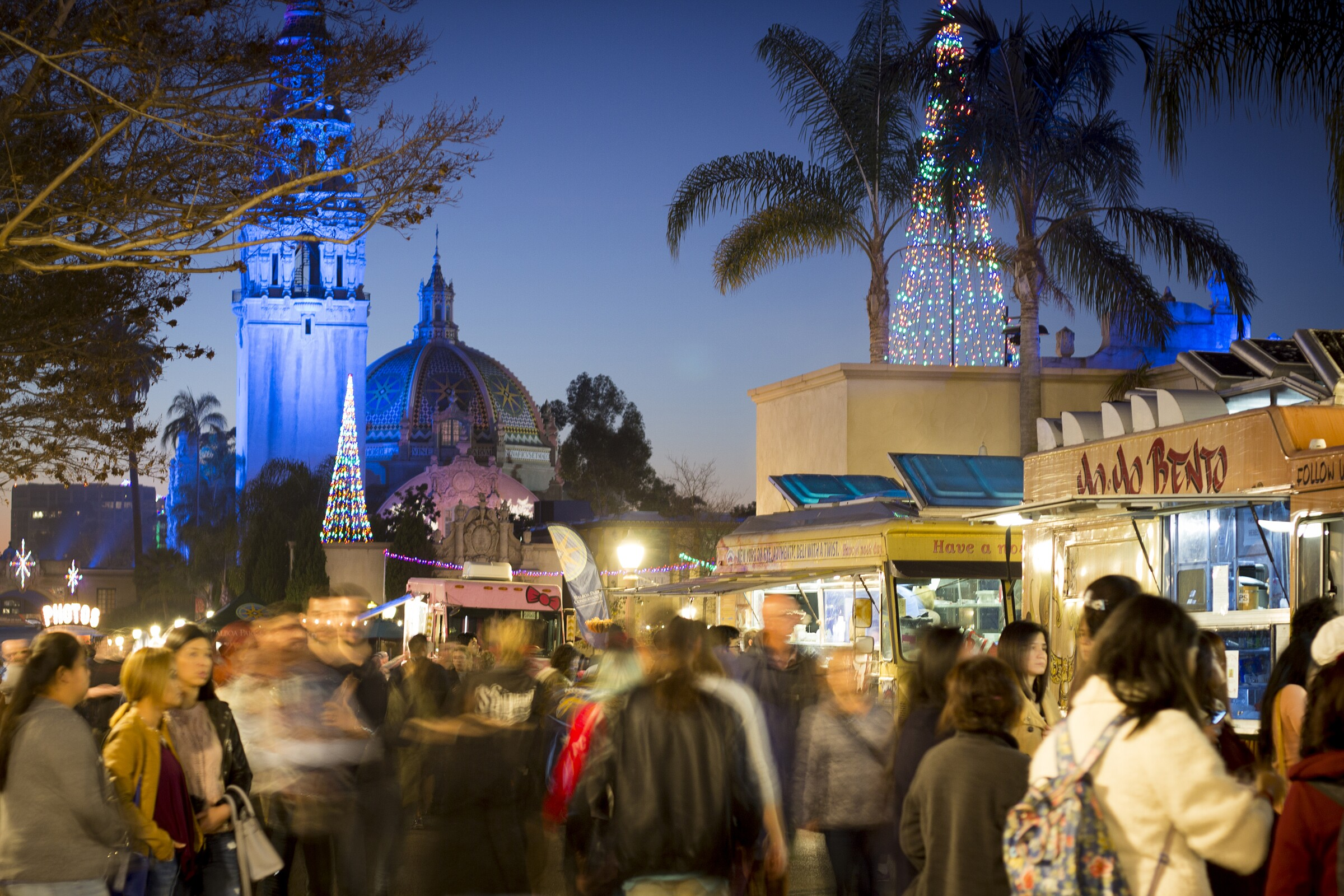 Balboa Park Holiday Food Truck Festival