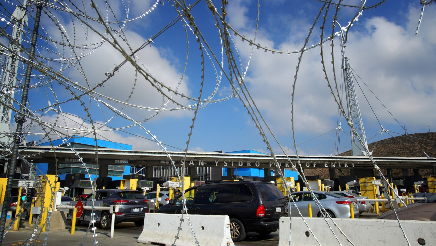 Fortifying the U.S. border along Mexico