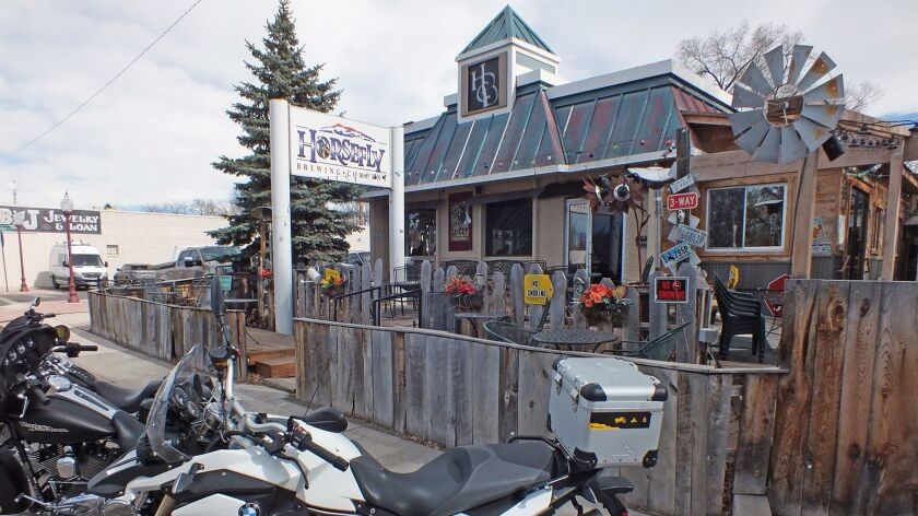 In Montrose, Colo., Horsefly Brewing Co. is popular with locals and tourists alike.