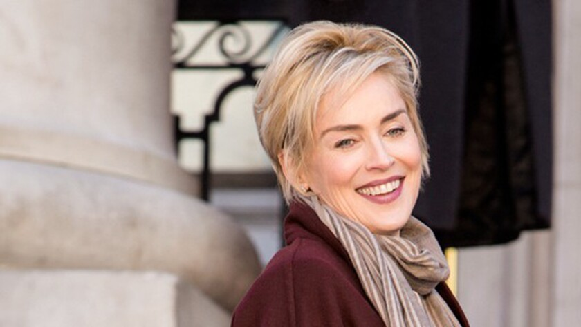 """Sharon Stone stars in """"Agent X."""" Much of the time the """"Agent X"""" runs like a video game."""