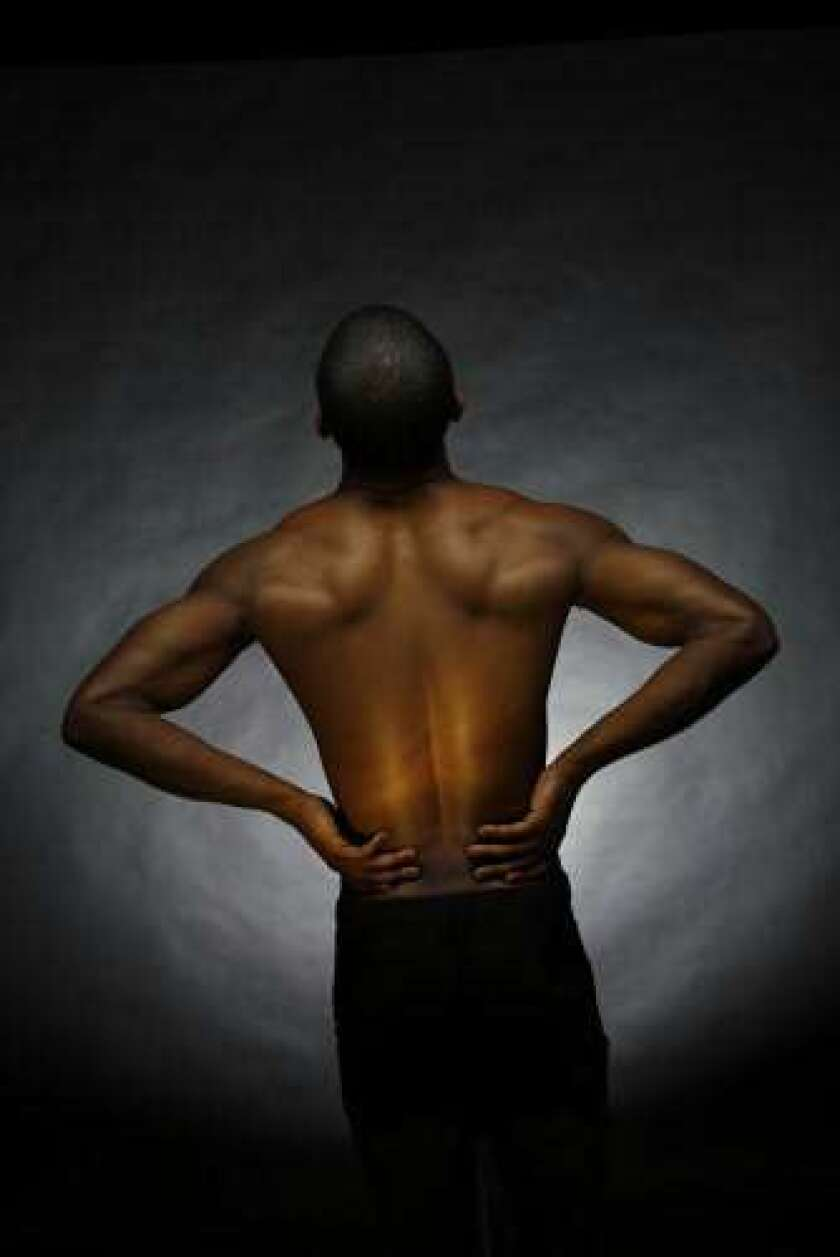 Even before injury, chronic back pain may start in the brain