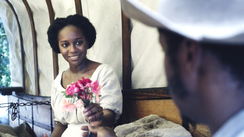 """Aja Naomi King, as Cherry in """"The Birth of a Nation."""" Credit: Fox Searchlight Pictures"""