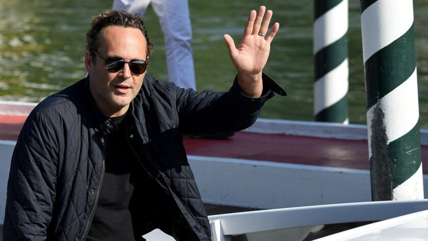 Actor Vince Vaughn is facing misdemeanor charges after he was arrested on suspicion of driving under the influence in June. In this September photo, Vaughn arrives at the Lido Beach for the 75th annual Venice International Film Festival in Italy.