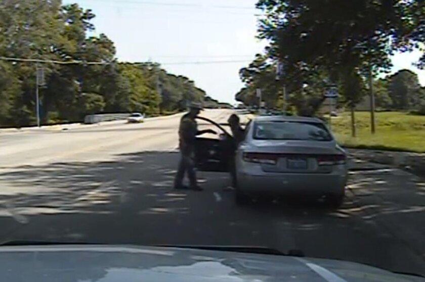 Sandra Bland arrest