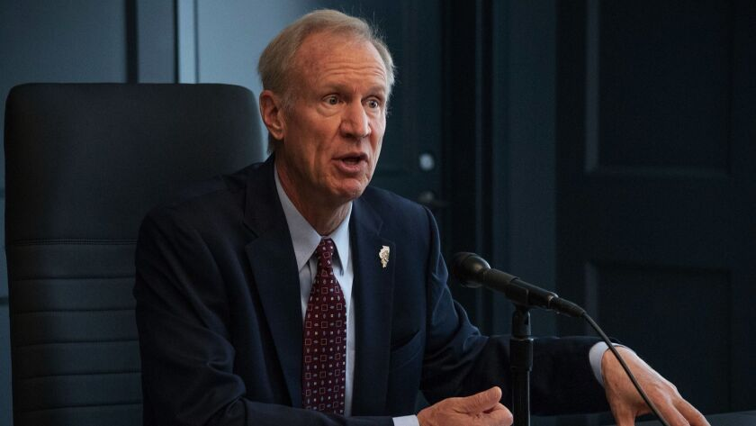 Gov. Bruce Rauner has vetoed a bill that would prohibit employers from asking job candidates about their salary history.