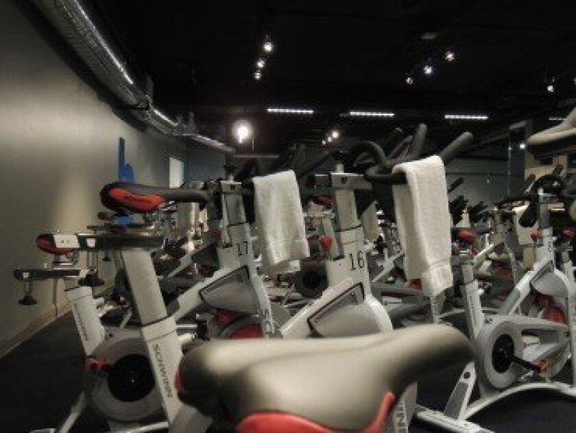 The cycling studio at Breakaway Cycle features all new equipment -Shelli DeRobertis