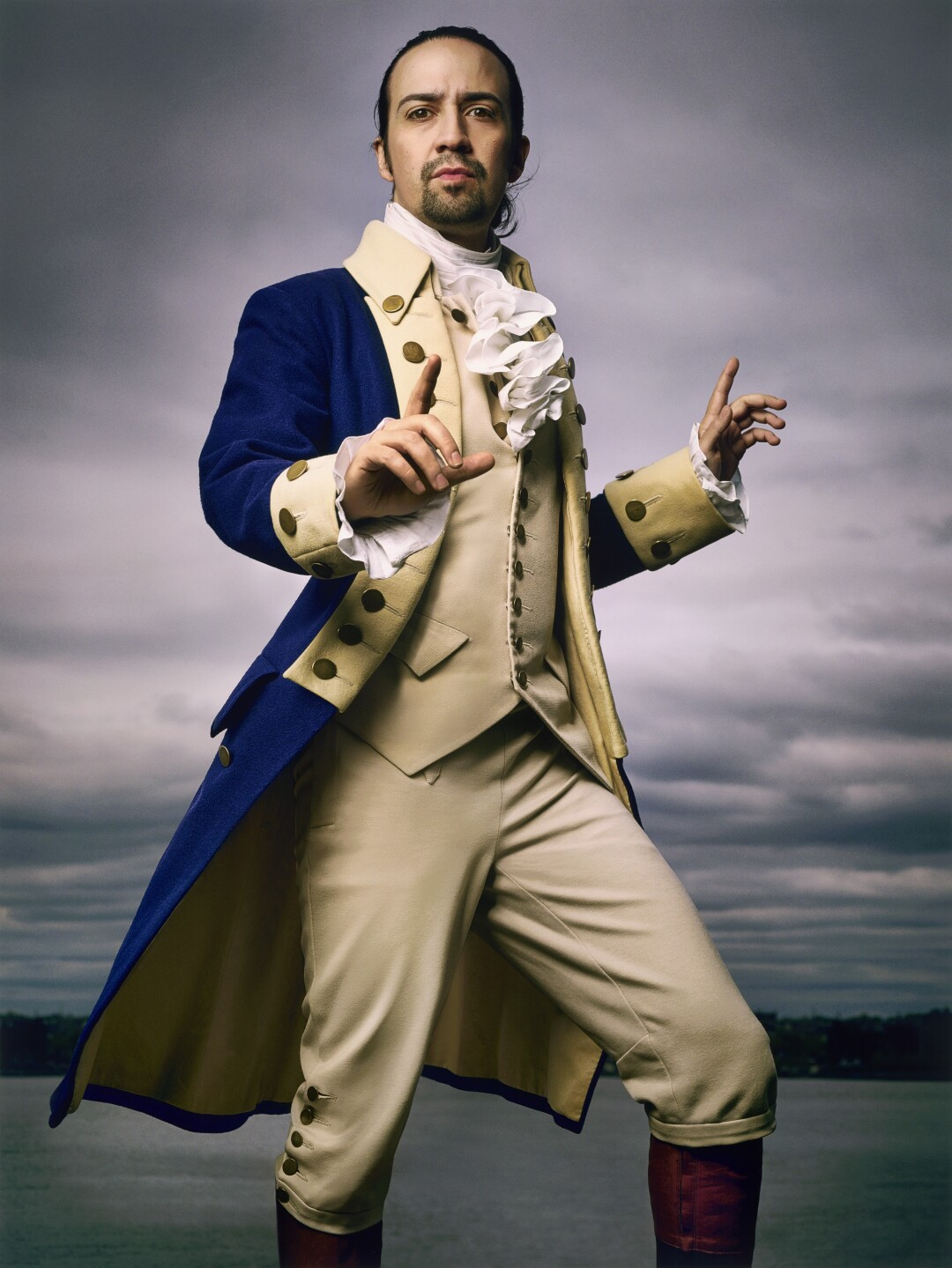 Lin-Manuel Miranda, photographed on May 5, 2016, in New York, for the June 2016 issue of Rolling Stone. The work is in the permanent collection of the Smithsonian's National Portrait Gallery.