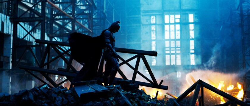 """Christian Bale in the movie """"The Dark Knight."""""""