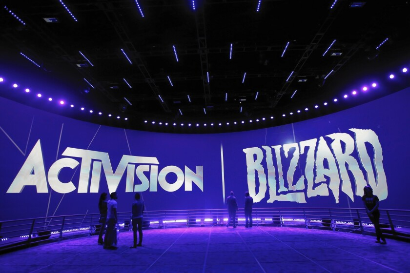 Activision Blizzard booth