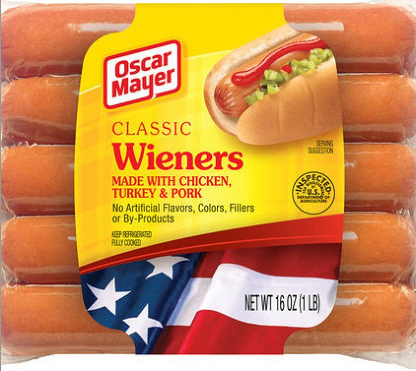 Kraft Foods is recalling 96,000 pounds of Oscar Mayer Classic Wieners for mislabeling.