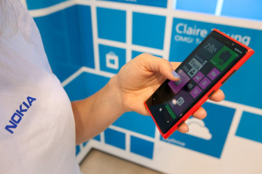 Nokia's Lumia smartphones are outselling BlackBerry.