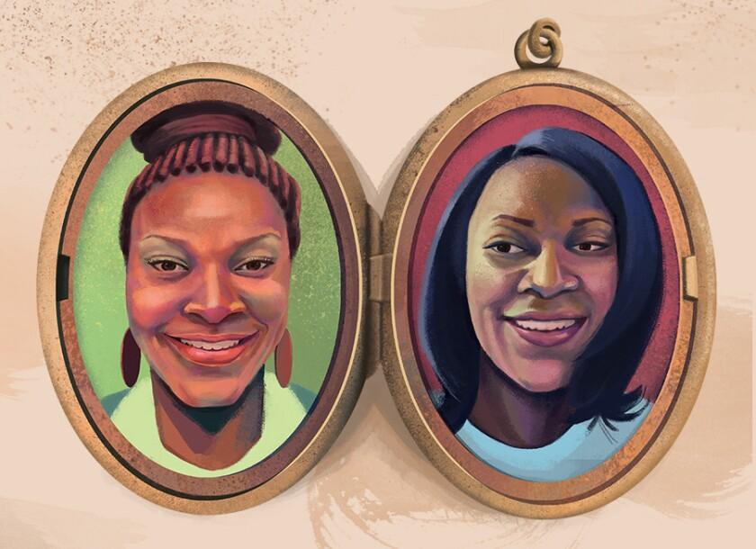 Chenai Okammor and Sandra Bland