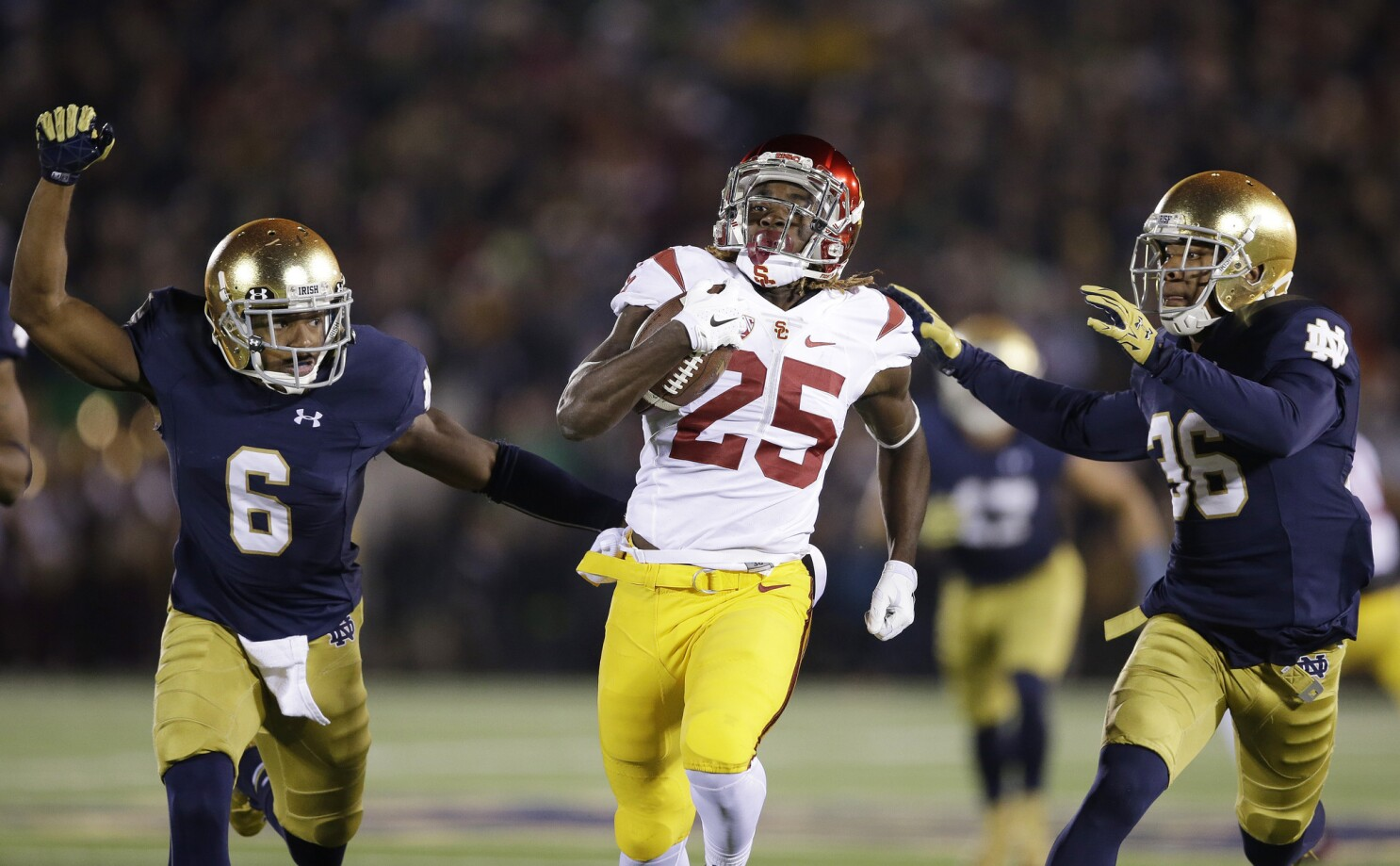 Freshman Tailback Ronald Jones Ii Progressing In All Phases Los Angeles Times