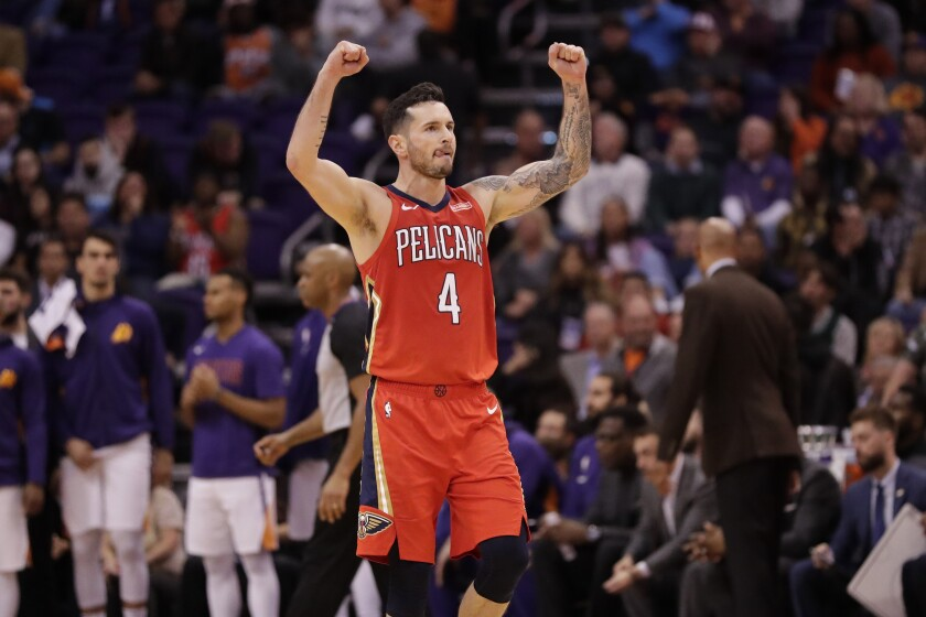 Image result for jj redick pelicans
