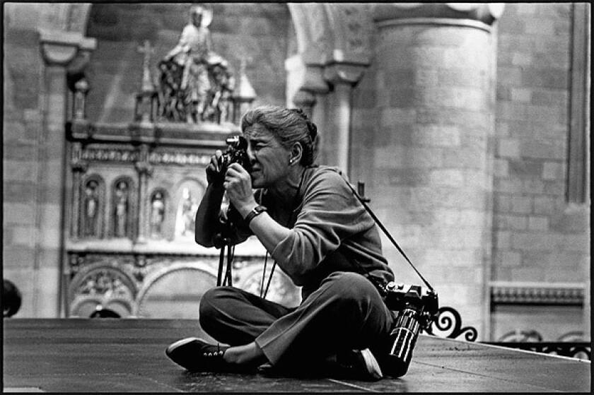 Photojournalist Eve Arnold