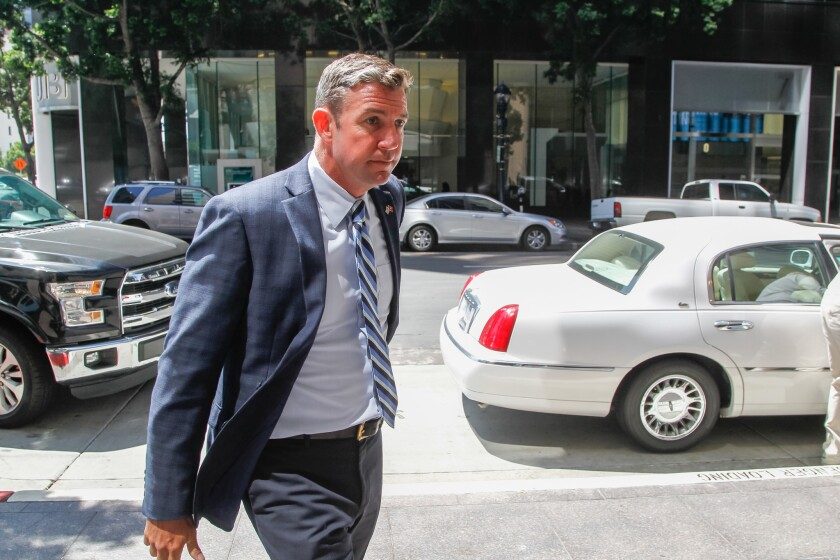 Duncan Hunter Arraignment