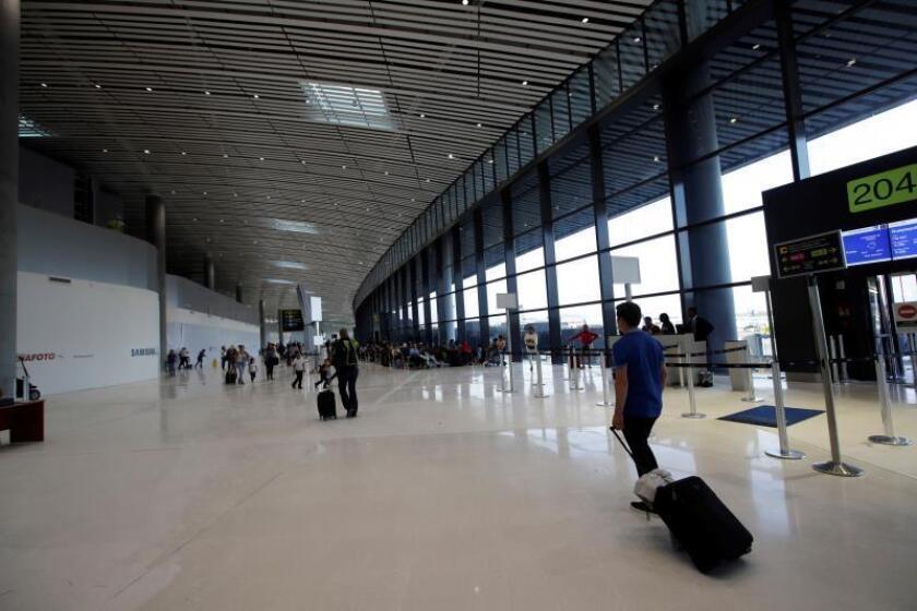 Vista de la nueva terminal (T2), en el aeropuerto internacional de Tocumen, en Ciudad de Panamá (Panamá). EFE/ Bienvenido Velasco/Archivo