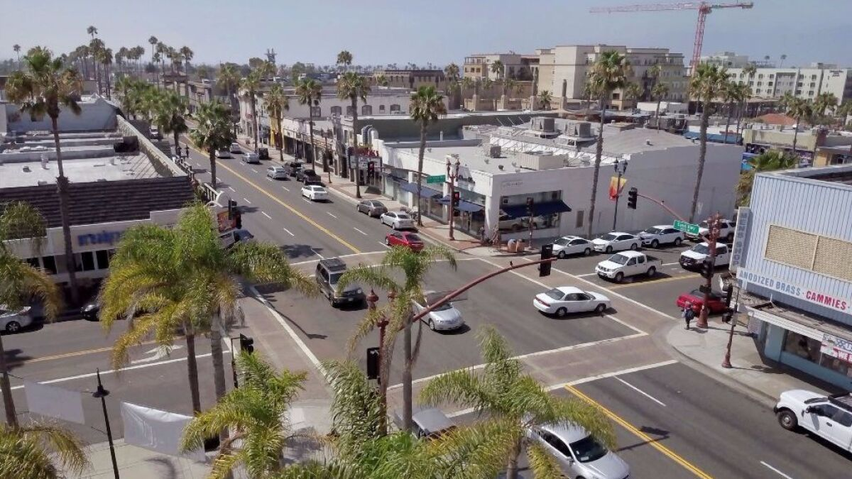 Oceanside creates downtown improvement district - The San Diego