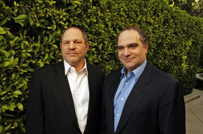 Harvey and Bob Weinstein