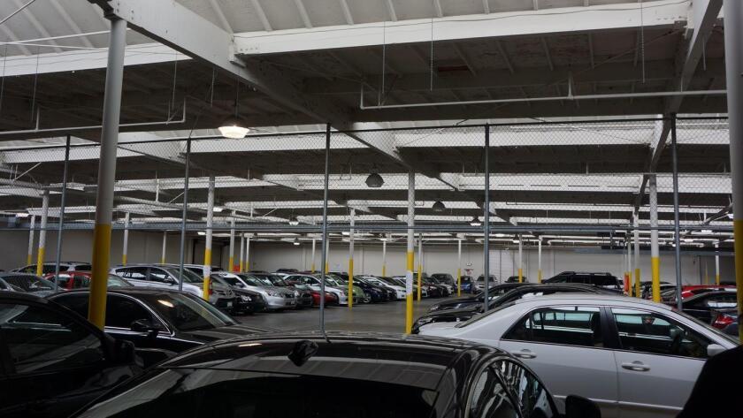 El centro de autos usados de Shift, en el sur de San Francisco (Shift).