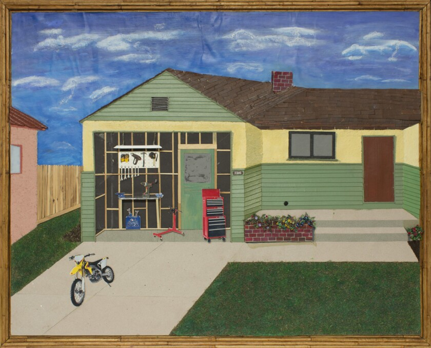 The Garage by Bobby Dean Evans, Jr., part of Spaces from Yesterday.