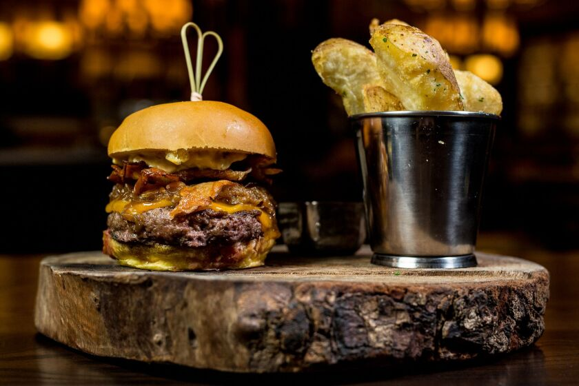 Sycuan Casino Resort is serious about burgers: they are offered at seven different venues, including Bull and Bourbon's signature Steakhouse Burger.
