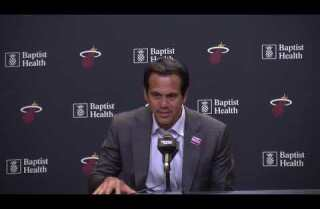 Spoelstra wants his players to have fun right now