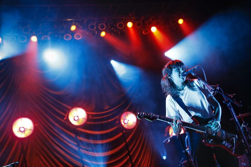 Australian rocker Courtney Barnett was both sage wordsmith and guitar hero at the Greek Theatre on Friday.