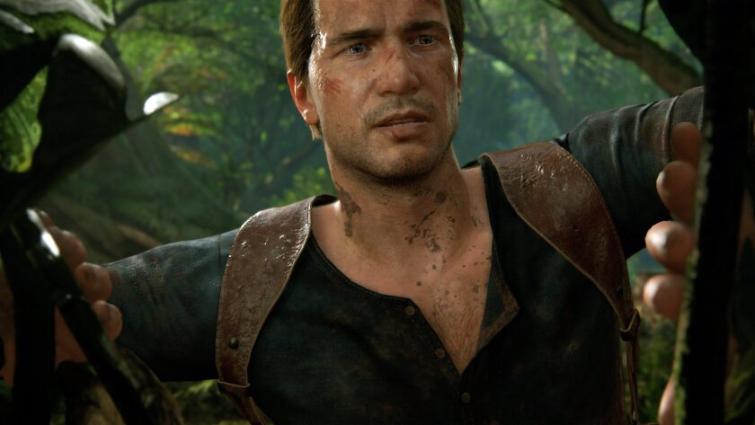 """This image provided by Sony Computer Entertainment America shows a scene from the video game, """"Uncharted 4: A Thief's End,"""" releasing on April 26, 2016. (Sony Computer Entertainment America via AP)"""