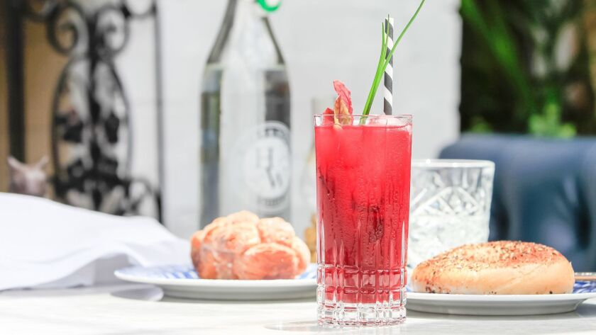 The Beet & Gin Bloody Mary.
