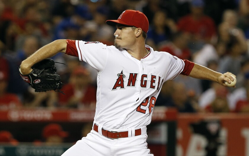 Angels shut down pitcher Andrew Heaney's throwing sessions