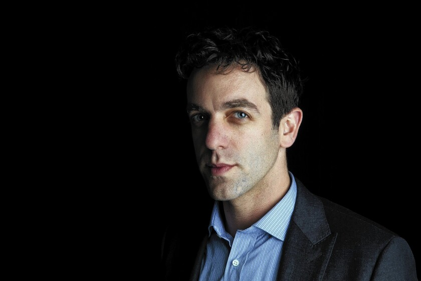 """B.J. Novak, who was a writer-actor on NBC's """"The Office,"""" has a volume of short stories, """"One More Thing."""""""