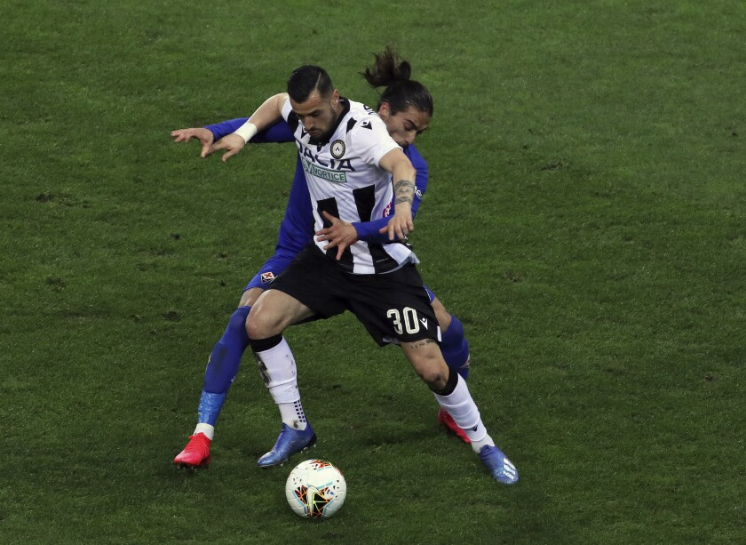 Italy Soccer Udinese Pozzo