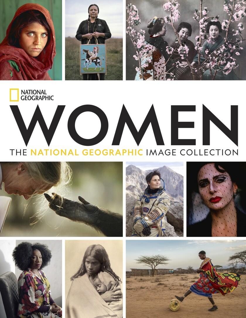 """This cover image released by National Geographic shows """"Women: The National Geographic Image Collection."""" The book's 450 photographs span three centuries and more than 30 countries. (National Geographic via AP)"""