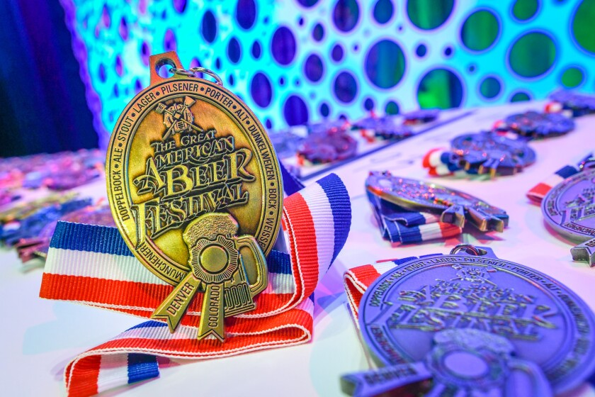 Sixteen San Diego breweries won awards at the 2021 Great American Beer Festival (GABF).